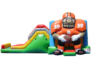 Football Combo $240 plus tax, delivered, set up, 8hr rental