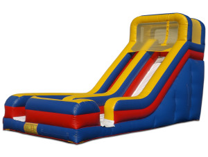 18' Wet/Dry Slide Rental Price $300 plus tax includes delivery & set up, 8hr rental