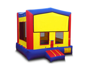 Modular Bounce House $135.00 15 x 15ft. INCLUDING DELIVERY, SETUP, & PICKUP for a 24 hour reservation.