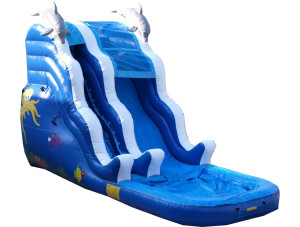 16' Water Slide-Sea Theme