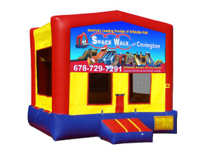 Modular Bounce $135.00 15 x 15ft. INCLUDING DELIVERY, SETUP, & PICKUP for a 24 hour reservation.