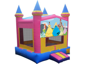 Pink/Yellow Princess Castle