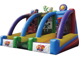 3 Play  $240 plus tax, delivered, set up, 8hr rental