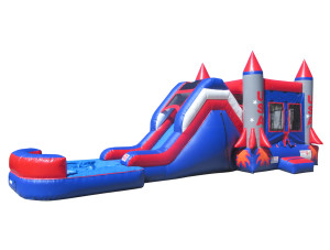 Rocket Ship Jump & Slide