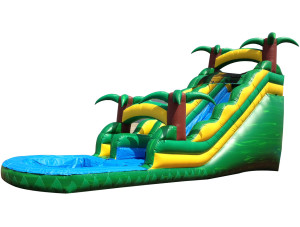 24 Foot Tropical Paradise Slide'n'Splash