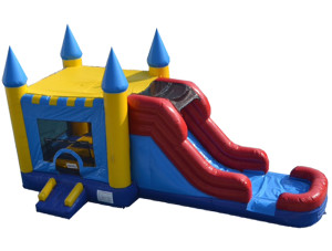 4 in 1 Castle Jump n Slide Combo