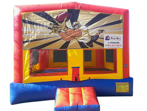 Football Banner Bounce House