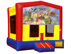 Bible Stories Bounce $135.00 15 x 15ft. INCLUDING DELIVERY, SETUP, & PICKUP for a 24 hour reservation.