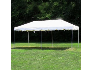 10x20 Frame Tent (White Top)