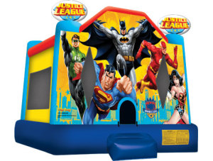 Justice League $158 plus tax, delivered, set up, 8hr rental