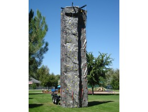 24ft 4 Station Mobile Rock Climbing Wall