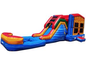 Paradise Jump & Slide w/Pool