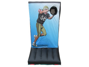 Football Toss (Black & Gold)