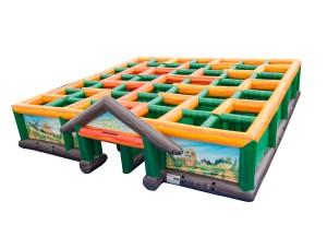 Inflatable Corn Maze