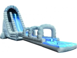 27' Roaring River Run N Slide Rock Arches w/ Extended Landing