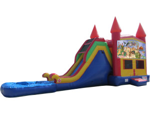 Bible Stores Jump & Slide w/ Pool DELIVERY,SETUP, & PICKUP for a 24 hour rental $250.00! PICKUP on Friday OR Saturday keep Until Monday $250.00!