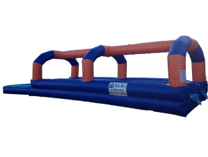 27' Dual Lane Slip and Slide with Pool