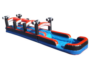 Dual Lane Racer Slip N Slide