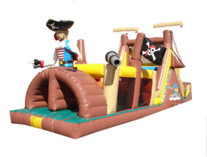 Backyard Pirates Obstacle w/Slide