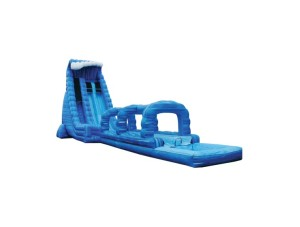 Blue Crush Dual Lane Slide 27'