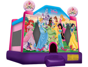 Disney Princess 15 X15 Bounce House