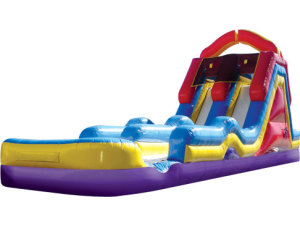 Monster Splash Water Slide w/Pool
