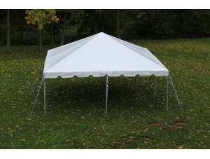20x20 Frame Tent (White Top)