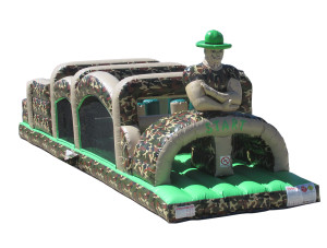Camo 40' Obstacle Course