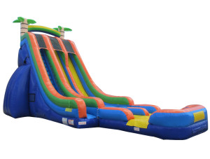 27' Tropical Slide w/ Dry Extension