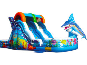 Marlin Splash Slide