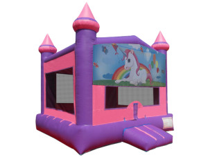 Pink Unicorn Castle