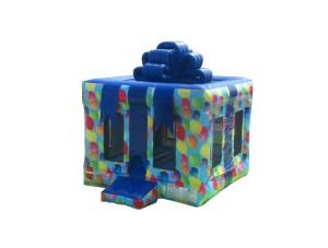 Gift Box w/ Balloons