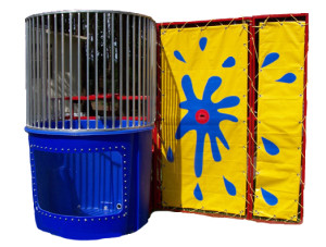 Dunk Tank $225 plus tax delivered, set up, 8hr rental