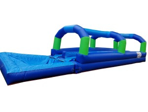 Green/Blue Dual Lane Slip N Slide