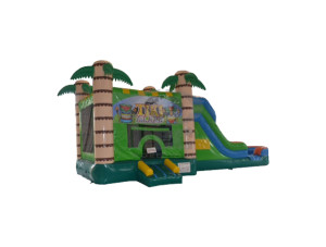 3 in 1 Tiki Jump n Slide Combo