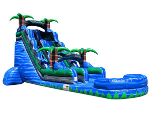 22' Tropical Tsunami Slide $350.00 INCLUDING DELIVERY, SETUP, & PICKUP for 24 hrs.