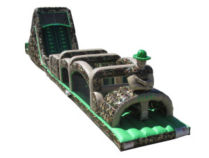 Camo Rockwall/Obstacle Course Combo