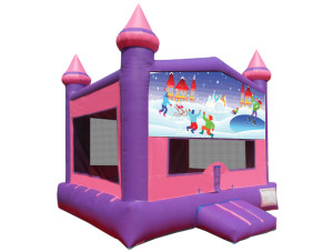 Pink Winter Wonderland Castle
