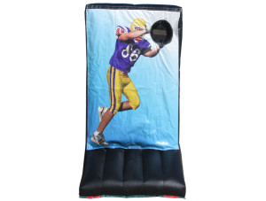 Football Toss (Purple & Gold)