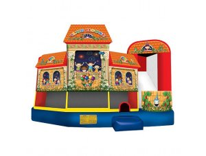 5 in 1 Superkids Clubhouse Combo (Wet or Dry)