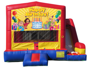 Birthday Bounce & Slide