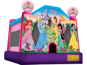 Disney Princess $158 plus tax, delivered, set up, 8hr rental