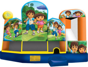 Dora & Diego 5-n-1 Combo