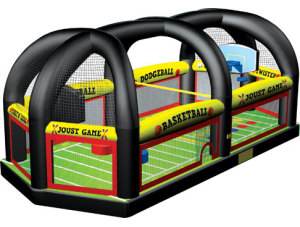 All in One Sports Arena     $300
