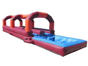 Red/Orange Dual Lane Slip N Slide