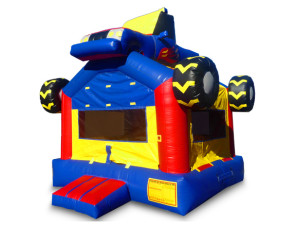 Monster Truck Bounce House 15'x15' DELIVERY,SETUP, & PICKUP for a 24 hour rental $135.00! PICKUP on Friday OR Saturday keep Until Monday $135.00!