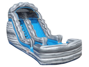 16' Grey Marble Slide w/Landing
