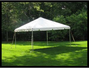 10x10 Frame Tent (White Top)
