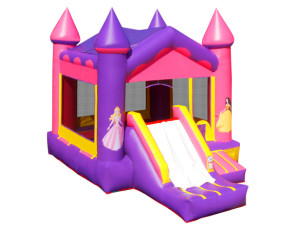 4 in 1 Pink Castle  (Dry Only)