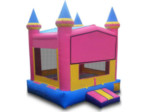 Pink/Yellow Castle Modular 15x15 with Goal
